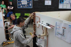 trainee plumbers