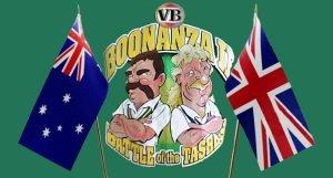 Chappell and Botham cartoon