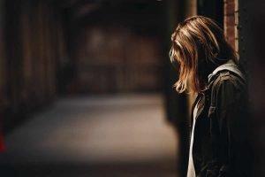 girl alone, depressed